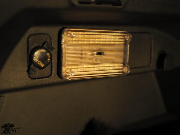свет в багажнике